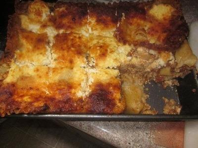 Como Hacer Una Lasagna