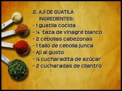 Cuentos de Cocina II - Guatila - paso a paso receta