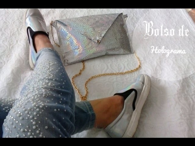 DIY Bolso De Holograma. Hologram Bag