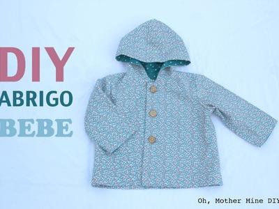 DIY Costura: Cómo hacer abrigo bebe (patrón gratis)