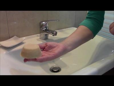 Hacer jabón casero con el aceite usado de cocinar