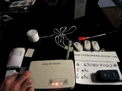 Alarma GSM Demostración