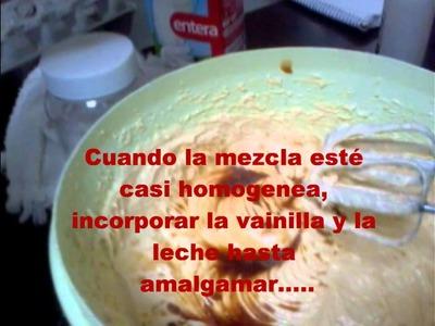 Como hacer pastel de vainilla paso a paso
