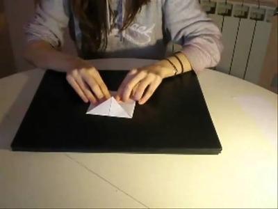 Como hacer una pajarita de papel