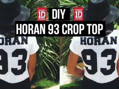 DIY: Horan 93 Crop Top + Happy Birthday Niall