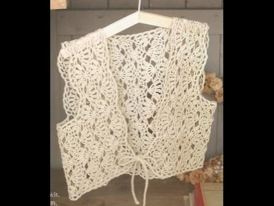 Gráficos Para Tejer Chaleco a Crochet