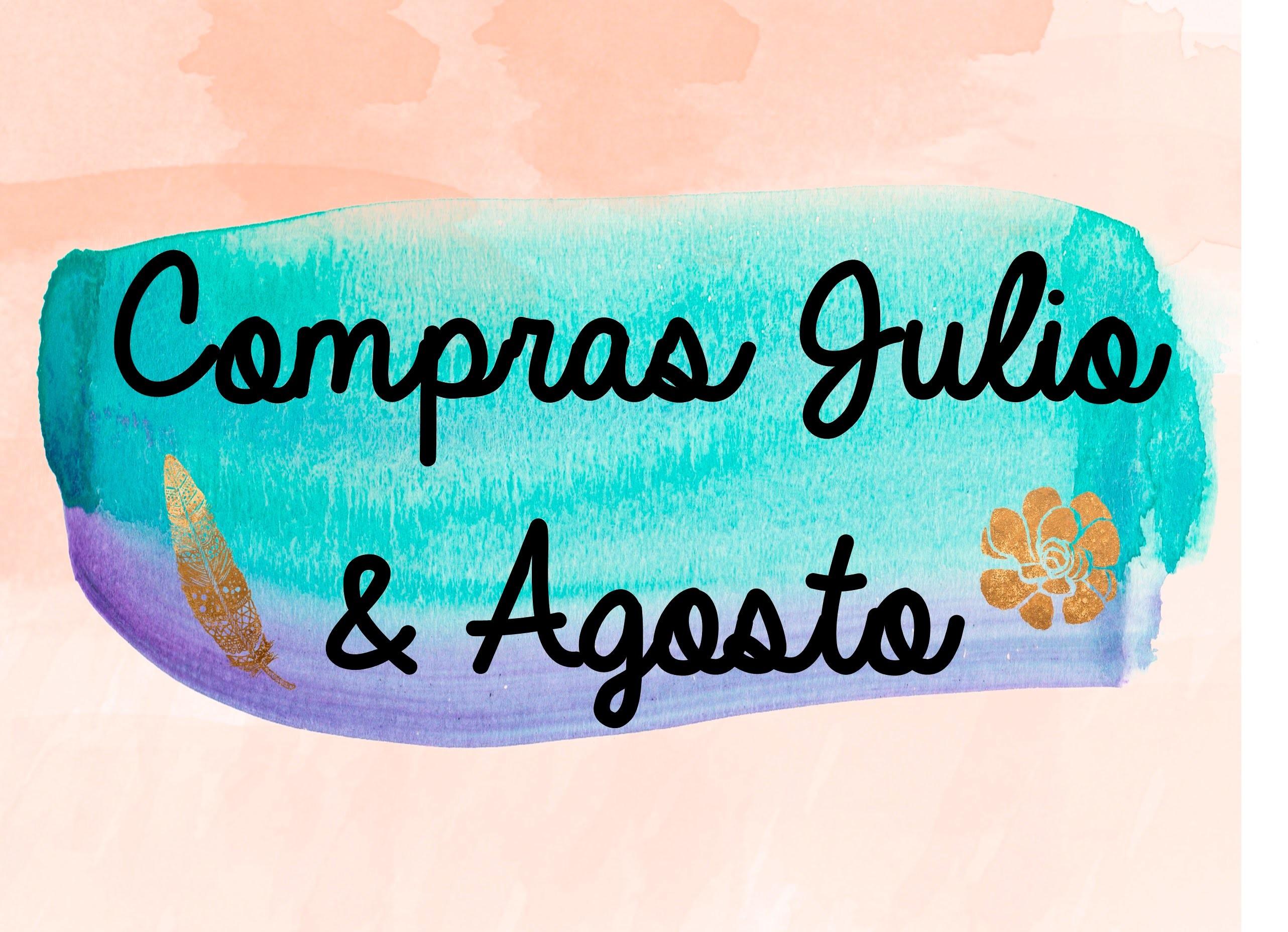 Haul Julio & Agosto - Material scrapbook y manualidades