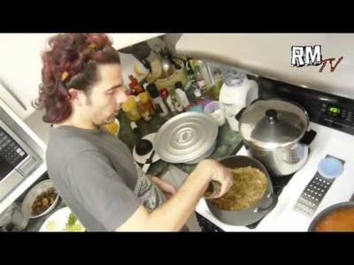 Lasagña de Soya, Vegetales y Bechamel - Roba Morena TV #180