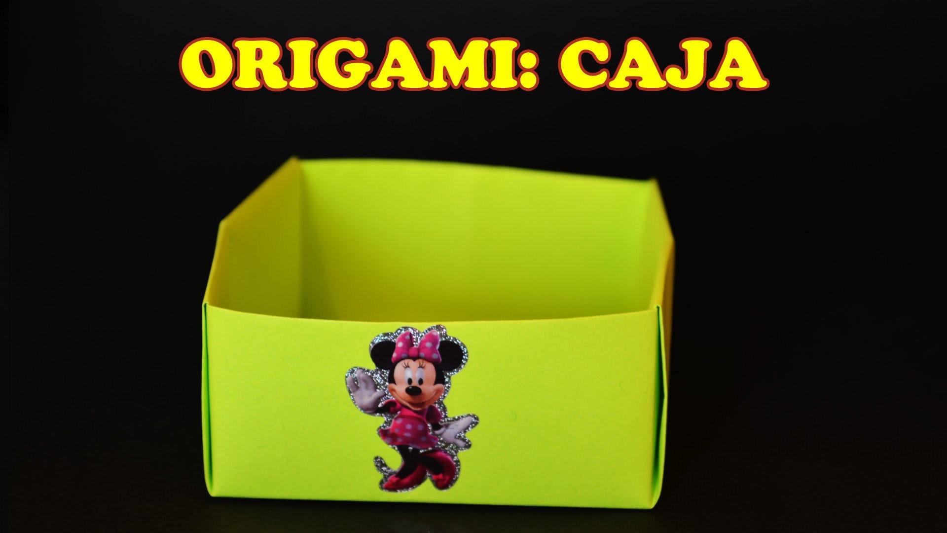 Manualidades con Papel, Origami para Niños Una Caja