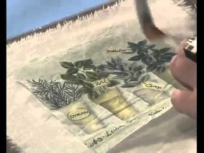 MONITOR | Martha Cacacio | Como decorar un Almohadón | Manos a la Obra
