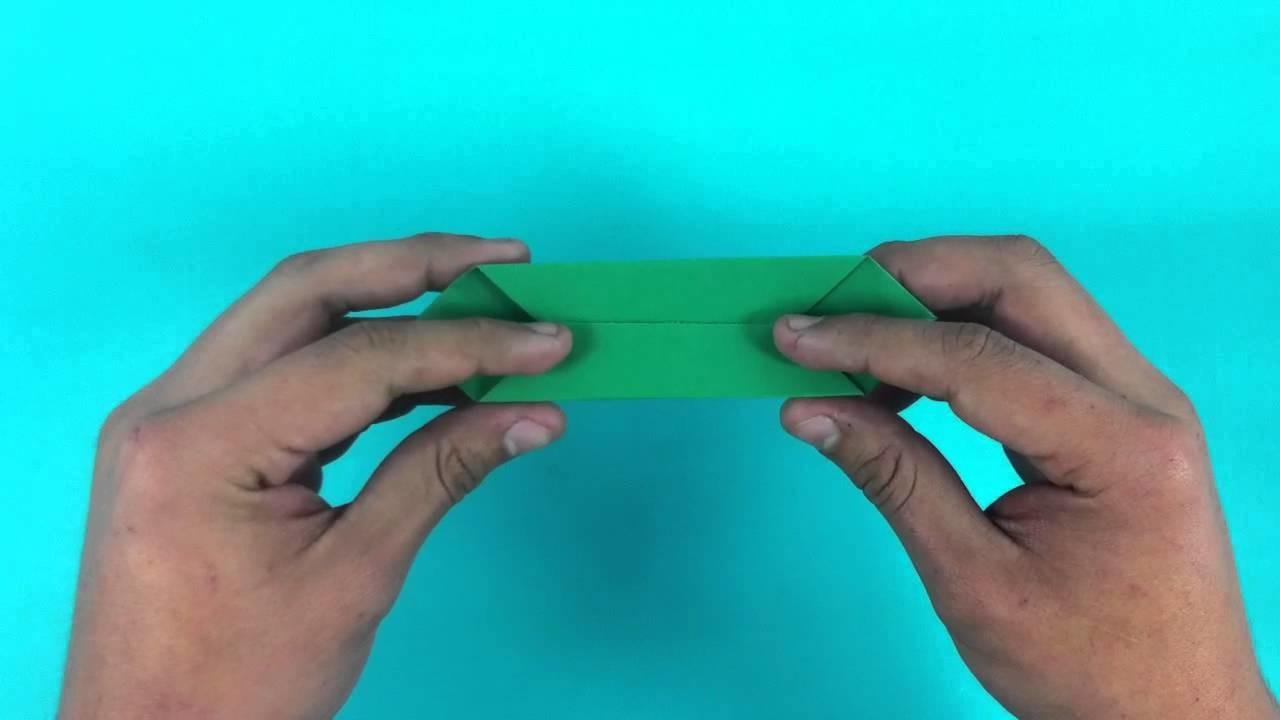 Rosa de papel - Flor de origami