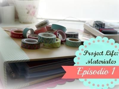 Scrapbook project life a mi manera.