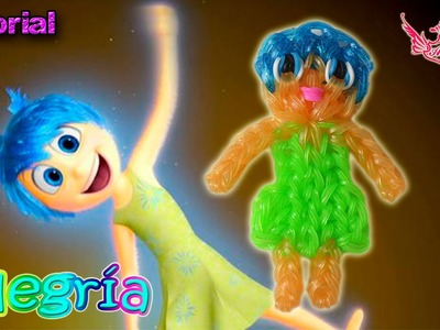 ♥ Tutorial: Alegría de Inside Out (sin telar) ♥