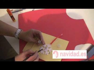 Adorno navideño: Copo de nieve para el árbol de Navidad