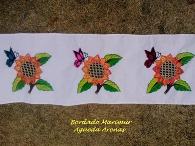 Bordado fantasia flores para  mama por alumnas de marimur 472