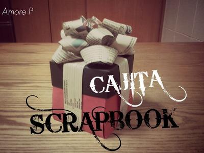 Cajita Scrapbook para tu pareja ❤