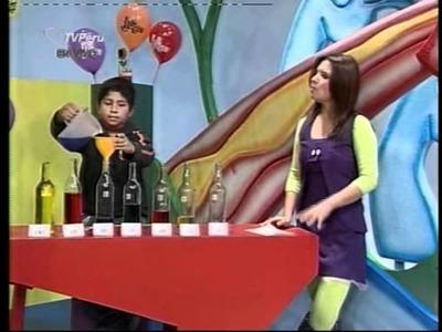 Ciencia para Niños - Musica con botellas