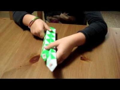 Cómo hacer la cruz con la serpiente Rubik