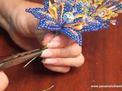Como hacer Tembleques - Tapa Oreja de Colores - Parte 7 (final)