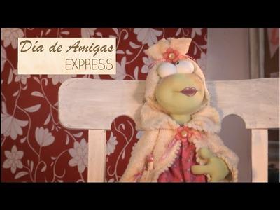 Día de amigas Express - Como hacer un accesorio para el toilette en tela