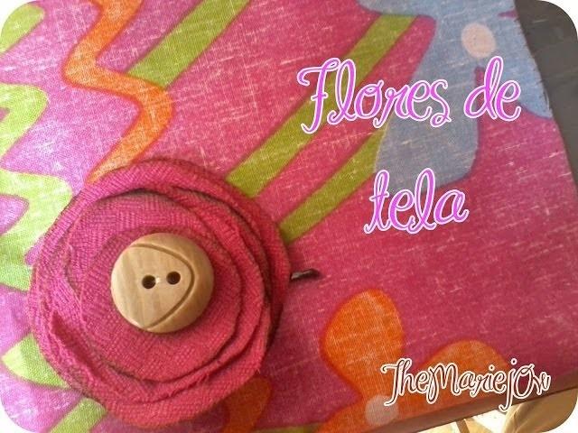 .::DIY Flores de moda::. Cabello :) (Házlo tu misma)