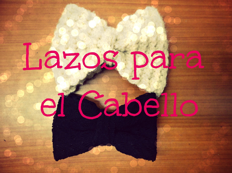 DIY Lazos-Moños para el Cabello. Hair Bow | El Baul de Carmencita