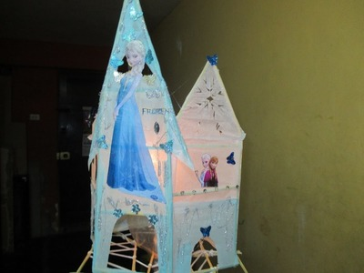 DIY: MANUALIDADES ANTORCHA CASTILLO FROZEN