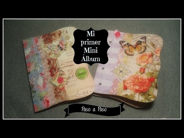 ☆ DIY: Mini Álbum Scrapbook para Principiantes ☆