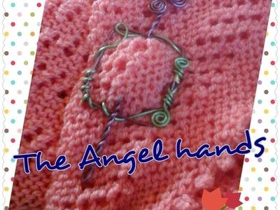 Hebilla Cuadrada para shawl (chal) Broche o pin