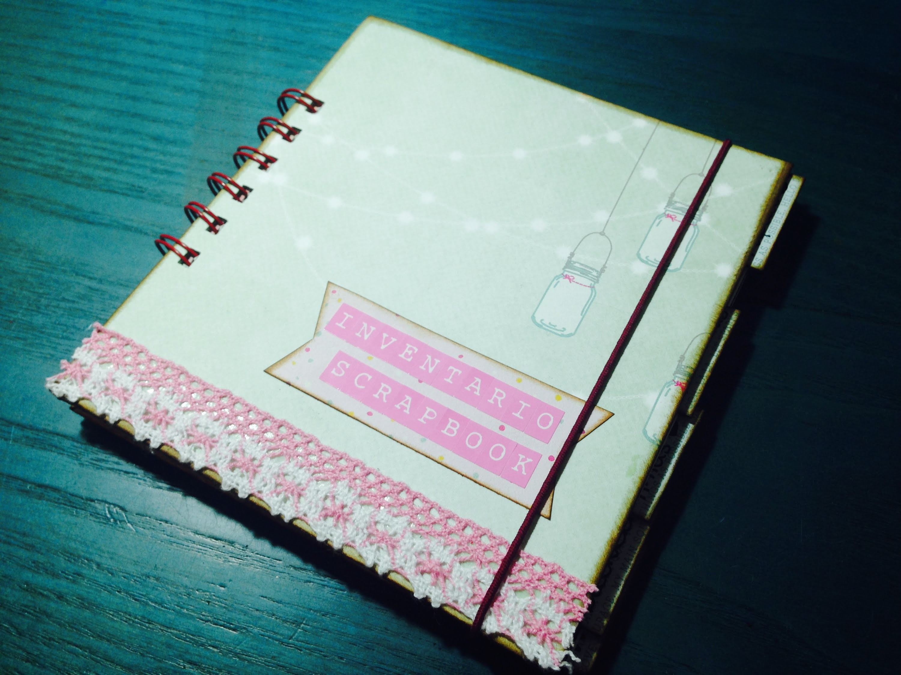 Inventario Scrapbook. TUTORIAL