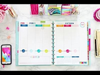 Organizate conmigo. Decoracion semanal de mi Agenda