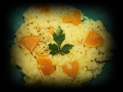 """RECETA ARROZ (risotto) a la naranja """"paso a paso"""" RecetasTrucosyTips"""