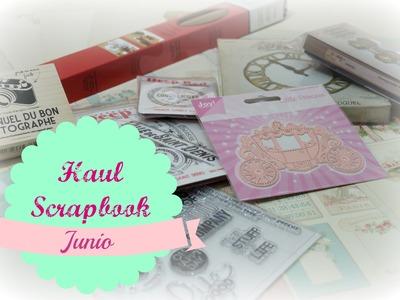 Scrapbook Haul Junio