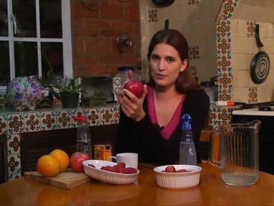 Como lavar pesticidas en frutas y verduras