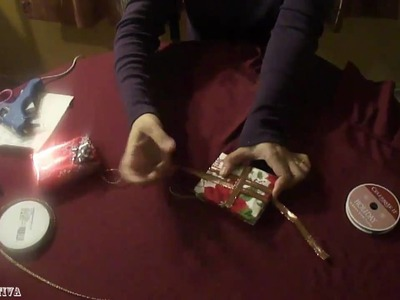 Tutorial de regalitos como ornamentos para Navidad