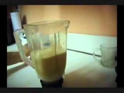 Aguas de fruta, Receta de agua de horchata