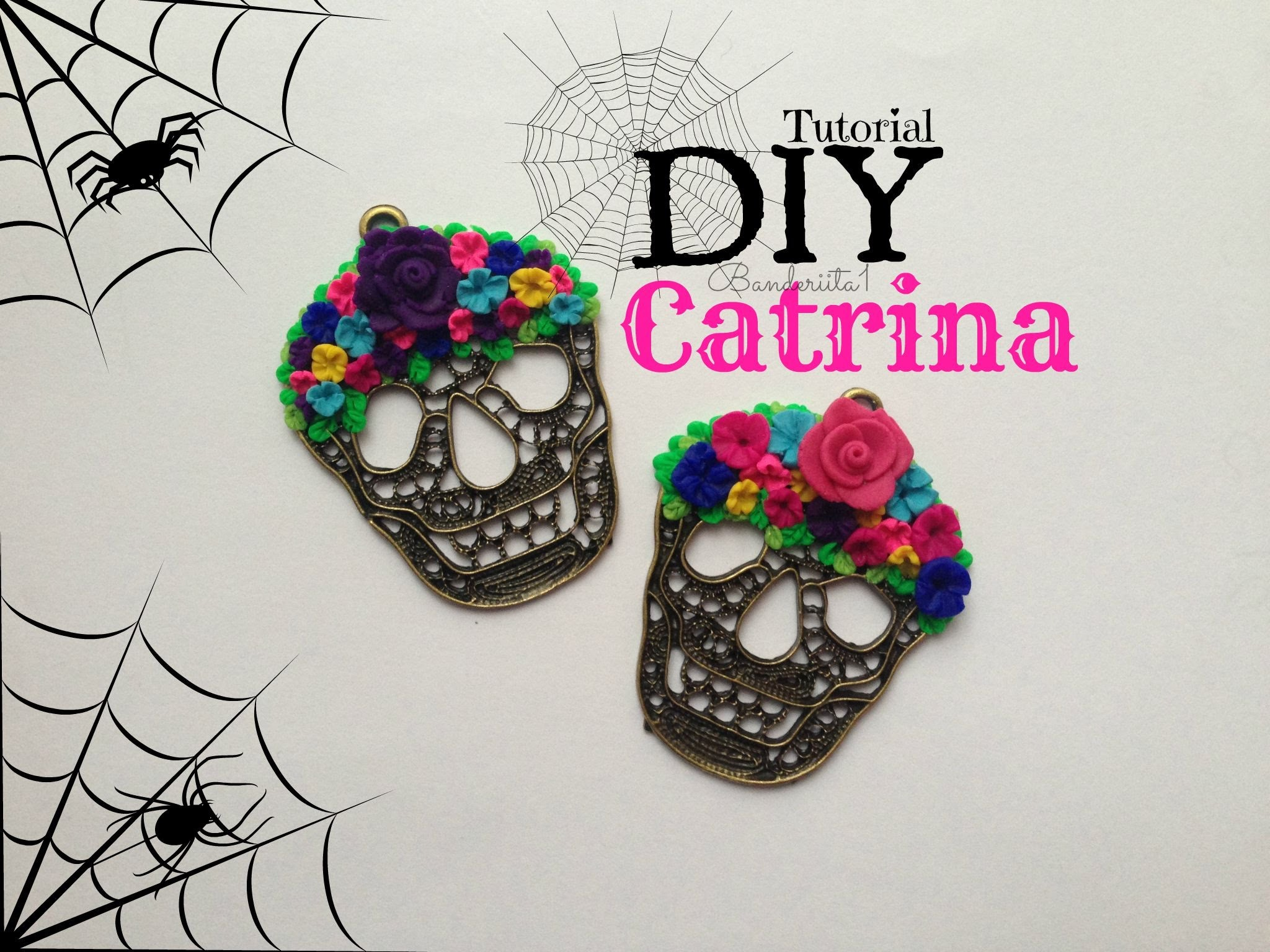 Catrina Tutorial DIY- How to Sugar Skull Polymer Clay