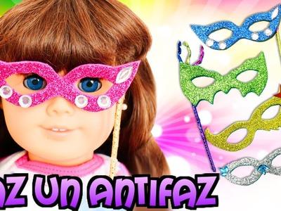 Cómo hacer un antifaz para tu  American Girl o Barbie - Manualidades para muñecas