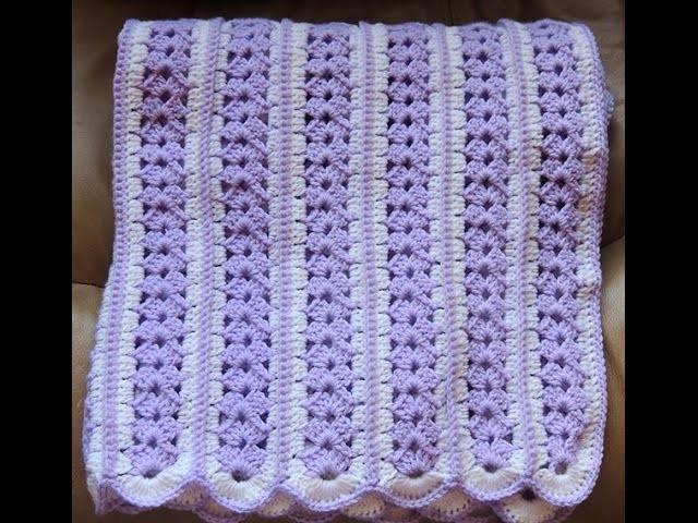 Crochet : Manta de Bebé