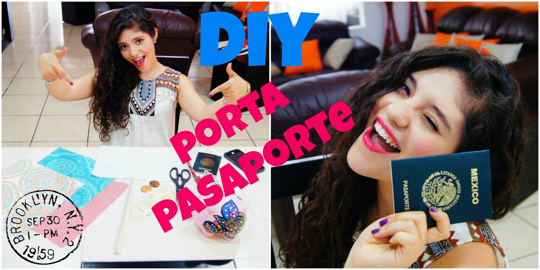 DIY: Portapasaporte
