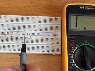 Electrónica Básica 21, Uso del multímetro.