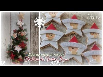 Estrella de Santa Claus (Foami)
