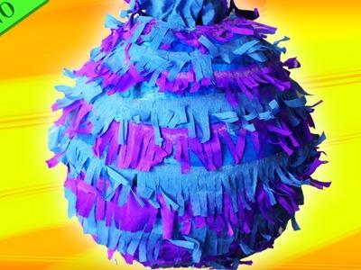 Fácil Manualidades: Como Hacer Una Piñata | Easy DIY: How to Make a Piñata | HooplaKidz