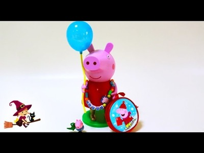 La Cerdita Peppa Kit de Bisutería de Peppa Pig Manualidades para Niños