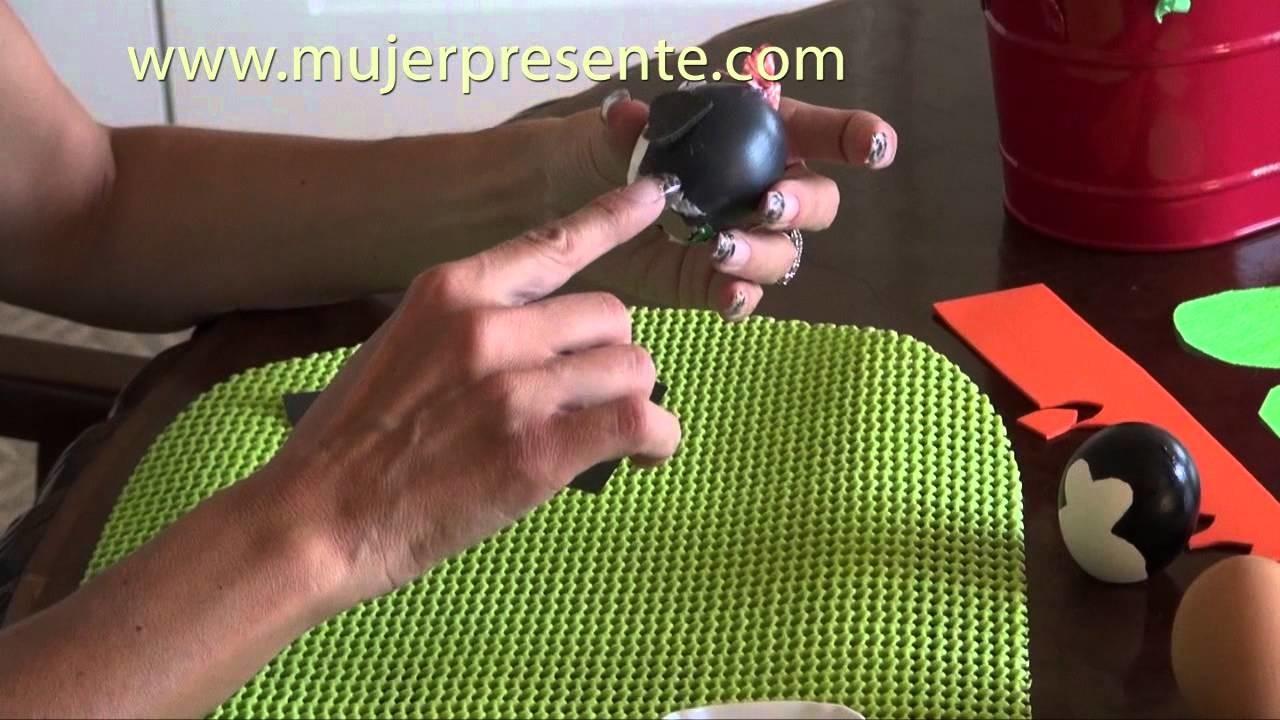 Manualidades con Beatriz Guajardo, Crea tus huevos de Pascua