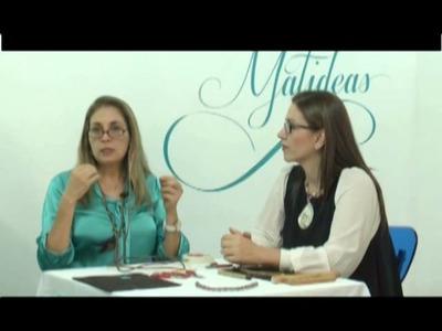 MATIDEAS - CADENA CON TEJIDO DE ALAMBRE TUBULAR - PARTE 01