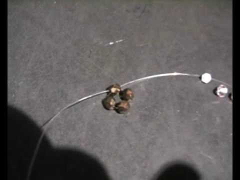 Técnica de hacer flor de cuatro Swarovski