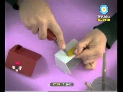 Caja rodante 03-01-11 HTMC. Casita de cartón