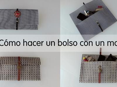 Cómo hacer bolso con mantel, hazlo tu mismo DIY