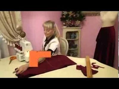 Como Hacer Un Vestido De Terciopelo Para Navidad ( Noche Buena )